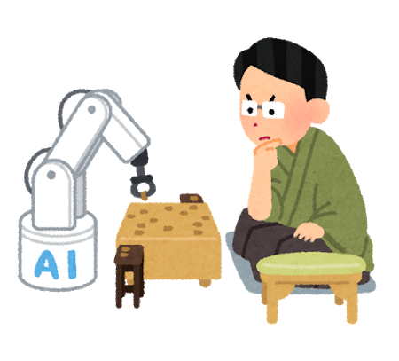 AIと棋士の対局