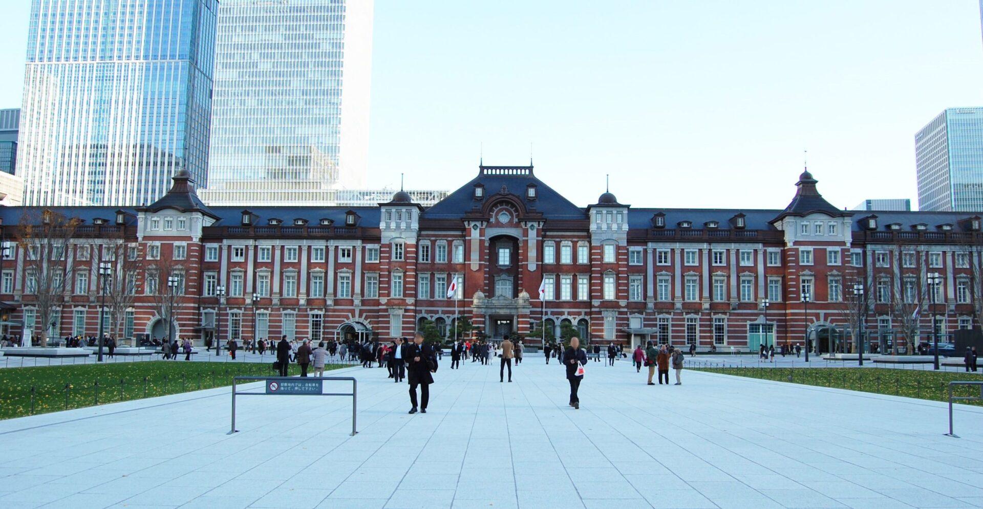 東京駅舎のレンガ造りを解説【2012年に復元されました】