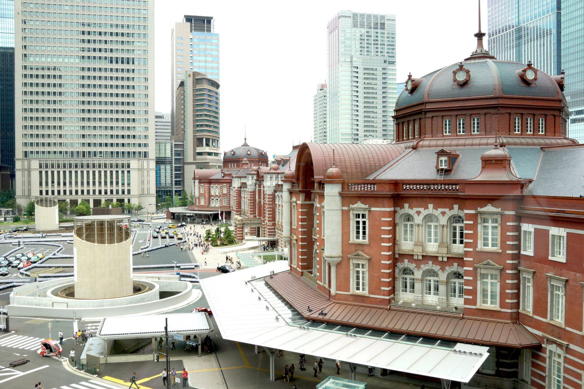 1914年の東京駅のレンガは埼玉県深谷産